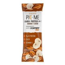 Barra Proteica+ Pic-Me Fortifit Pro Banana e Cacau 40g - Danone