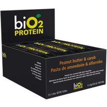 Barra Protein Alfarroba/Amendoim 12un X 40G Bio2 -