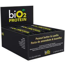 Barra Protein Baunilha/Amendoim 12un X 40G Bio2 -