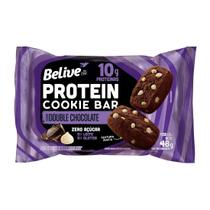 Barra Proteína Whey Bar Cookie Chocolate 480g Sem Glúten - Belive