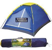 Barraca 4 Lugares Pessoas Camping Mor Iglu Acampar -
