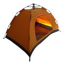 Barraca Acampamento 3 Pessoas 200cm X 120cm Montagem Rápida Tela Anti Mosquito - Thata esportes
