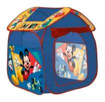 Barraca Cabana Infantil Casa Mickey 6376 Fácil De Montar - Zippy Toys