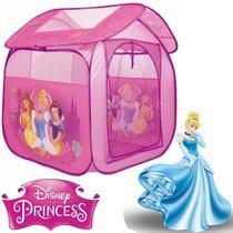 Barraca Cabana Infantil Dobravel Casa Princesas Menina 98x78 - Zippy