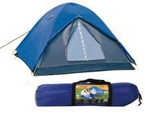 Barraca Camping 3 Pessoas Nautika Fox Iglu Impermeável + Bolsa Para Transporte -