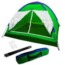 Barraca Camping 4 Pessoas Iglu Tenda Acampamento Bolsa - Bt Shop