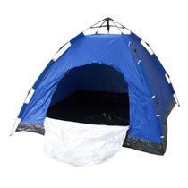 Barraca Camping 4 Pessoas Monta Sozinha Automática Dobrável Bolsa - Bt Shop