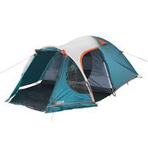 Barraca Camping 5 Pessoas Nautika Indy Gt Impermeável Com Avancê Abrigado -