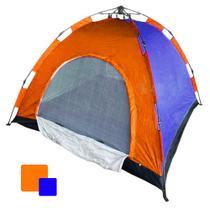 Barraca Camping Automatica 4 Lugares Iglu Monta Sozinha Colorida Ferias Passeio Acampamento - Ab Midia