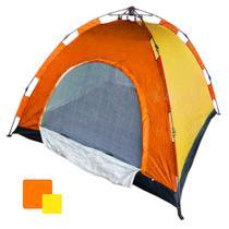 Barraca Camping Automatica 4 Lugares Iglu Monta Sozinha Ferias Passeio Colorida Acampamento - Ab Midia