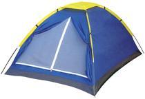 Barraca camping iglu 3 pessoas azul mor -