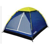 Barraca Camping Iglu 3 Pessoas com Sacola de Transporte Azul - Mor -