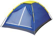 Barraca camping iglu 4 pessoas azul mor -
