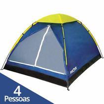Barraca Camping Impermeável Iglu 4 Pessoas - Mor