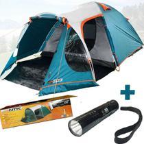 Barraca Camping Indy 4/5 Pessoas Nautika Impermeável Avanço -