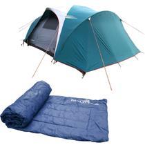 Barraca Camping Nautika Laredo até 9 Pessoas + Colchonete Camp Mat -