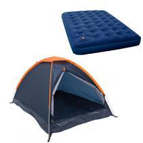 Barraca Camping Nautika Panda 6 Pessoas + Colchão King Size Inflável Zenite -