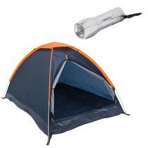 Barraca Camping Panda 6P Nautika + Mini Lanterna 9 LEDs à Pilha Blitz -
