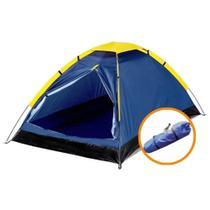 Barraca Camping Para 4 Pessoas Iglu Impermeável Acampamento - IWBC-4P - IMPORTWAY