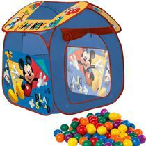 Barraca Casa Com 50 Bolinhas Dobrável Menino Mickey Toca Toquinha Infantil - Zippy Toys