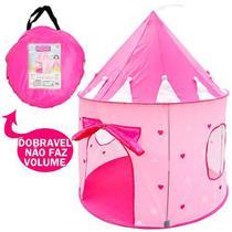 Barraca Castelo das Princesas Infantil Meninas Tenda Toca Super Grande Dm Toys DMT5390 -