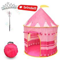 Barraca Castelo Infantil Rosa Grande Cabana - Brinquedeiro