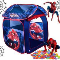 Barraca Com Bolinhas Casa Homem Aranha Dobrável Menino Azul Toca Toquinha Casinha Infantil 1c - Zippy Toys