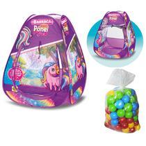 Barraca com Bolinhas Infantil Ponei - Samba Toys