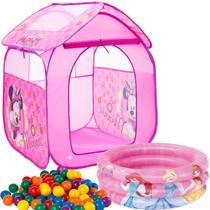Barraca Com Bolinhas Infantil Toca Minnie Cabana Casinha Piscina Banheira 38 Litros - Zippy Toys