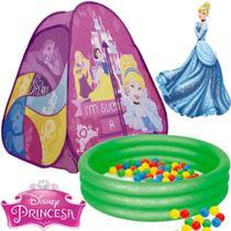 Barraca Com Bolinhas Infantil Toca Princesa Cabana Casinha Menina Dobrável Rosa 10d Piscina 80 Litros - Zippy Toys
