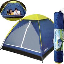 Barraca de camping 2 pessoas Mor azul -