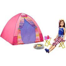 Barraca De Camping E Boneca Barbie Dreamhouse Skipper 2019 - Mattel
