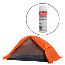 Barraca de Camping Mykra 1/2 Pessoas Azteq + Impermeabilizante para Barracas Coleman -