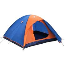 Barraca de camping NTK para até 4 pessoas impermeável com coluna dágua de 1000 mm Falcon 4 -