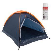 Barraca de Camping Panda 2 Pessoas Nautika + Impermeabilizante para Barraca Coleman -