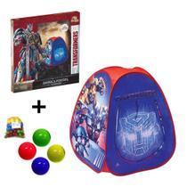 Barraca do Transformers Toca Infantil + 50 Bolinhas - Zein