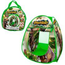 Barraca iglu cabana  infantil meninos dinossauro  dobrável Casinha - Dm toys