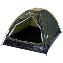 Barraca Iglu Camping Para Até 2 Pessoas Verde 9046 Mor -