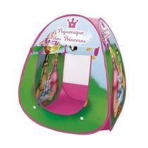 Barraca Iglu Infantil Dobravel Pop Up Piquenique Das Princesas Com Bolsa De Transporte - Dm toys
