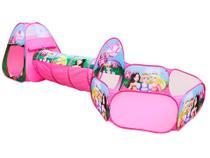 Barraca Infantil 3 em 1 Princesas Dm Toys -