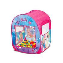 Barraca Infantil Barbie Mundo dos Sonhos 50 Bolinhas Fun -