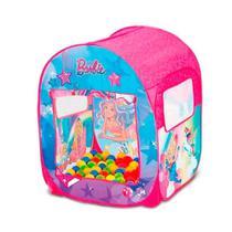 Barraca Infantil Barbie Mundo dos Sonhos com 50 Bolinhas 8489-6 Fun Divirta-se -