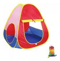 Barraca Infantil Cabana Toca Tipo Piscina 50 Bolinhas Bebê Crianças BW064 - Importway