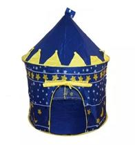 Barraca Infantil Castelo Mágico Dos Principes Meninos Grande Azul - Dm toys