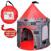 Barraca Infantil Castelo Torre Príncipe Meninos Barraquinha  Iglu Pop Up - Dm toys