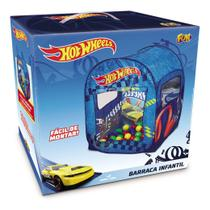 Barraca Infantil Com 50 Bolinhas - Hot Wheels - Looping Fun