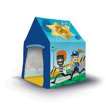 Barraca Infantil Da Polícia Azul - Bang Toys -