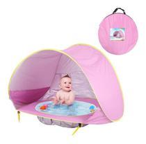 Barraca Infantil de Praia Dobrável Criança Bebê Piscina Tenda Proteção Sol -