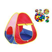 Barraca infantil divertida com 60 bolinhas coloridas - Import Way
