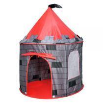 Barraca Infantil Dobrável Barraca Castelo Torre - Dmtoyd